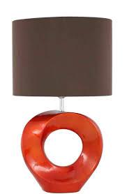 lamp shades table lamps modern. Lighting:Inspiring Burnt Orange Lamp Shade Shades Large Drum Table Floor Lamps Modern Splendid S