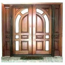 modern wood front door exterior doors wooden dark entry with glass