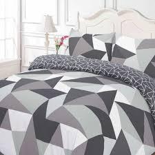dreamscene shapes geometric duvet cover