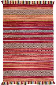 kilim stripe red