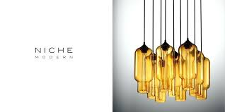 niche modern lighting. Niche Modern Lighting Made In Beacon Crystal Chandelier Book Featuring Chandeliers Affordable Empire . I