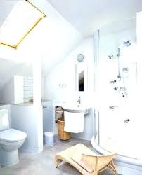 sloped ceiling bathroom designs attic remodel bathrooms with ceilings