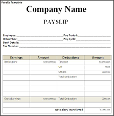Salary Employee Template
