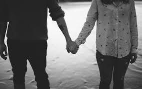 Download Wallpaper 3840x2400 Hands Couple Bw Love 4k