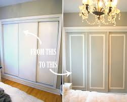Painted closet doors Wood Trim Closet Door Paint Diy Home Tree Atlas Diy Challenge Give Your Closet Doors Makeover Ideas And Design