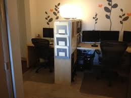 home office small shared. Small Space Solutions Room Divider Creates Shared Home Office For N