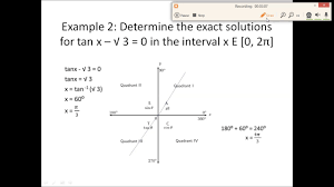 5 4 solving trigonometric equations