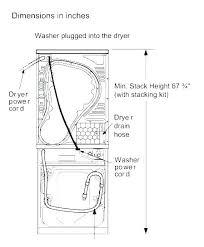 Washing Machine Size Chart Zkdisu Info