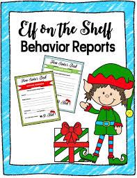 elf on the shelf behavior image for store