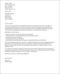 Cover Letter Medical Assistant Entry Level Sample Cover Letter For Medical Assistant 8 Examples In Word Pdf