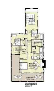 house plans for 50 foot wide lot new beach style house plan 4 beds 3 50