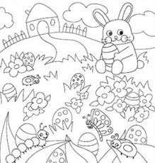 Spring Break Coloring Pages Free Murderthestout