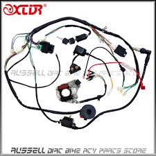Atv quad wiring harness 50cc 70cc 110cc 125cc ignition coil cdi stator assembly wire in atv parts accessories from automobiles motorcycles on