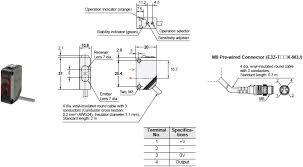 e3z compact photoelectric sensor built in amplifier e3z dimensions 6