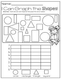 Teaching Shapes To Kindergarten Graphing Shapes Teaching Geometric ...