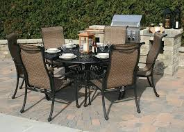 ideas glass patio table set or 6 chair person