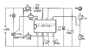 broadband amplifier with bias compensation circuit diagram
