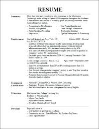 How To Resume For One Job For Many Years Awesome Resume Genius