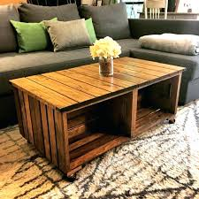 wood crate coffee table wooden crate coffee table coffee tables beautiful brown rectangle wooden crate coffee table with storage idea wallpaper pictures