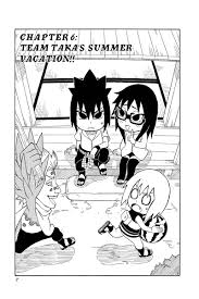 Naruto Chibi Sasukes Sharingan Legend Manga Volume 2