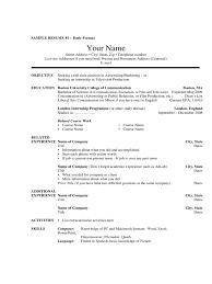 100 Basic Resume Outline Templates Skill Set Resume