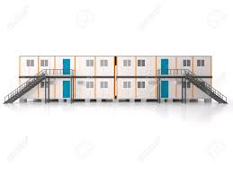 double story elevation portable house and office cabins stock photo 56532304 i88 cabins