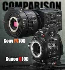 sony fs700. with both camps having updated their super 35mm cameras some would say sony have upscaled while canon definitely downscaled but at a similar price fs700