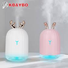 2019 <b>KBAYBO 220ml</b> Mini <b>USB</b> Ultrasonic Humidifier With ...