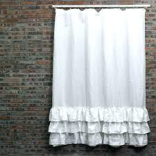 shower curtain liner full image for fabric shower curtain white fabric shower curtain liner ruffled