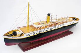 wooden model ship ss nomadic