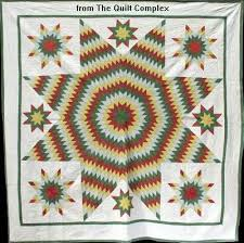Lone Star Quilt Pattern History: a Star of Many Names & lone star quilt with appliqué Adamdwight.com