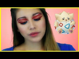so todays makeup tutorial is on this togepi makeup in this video i show you how