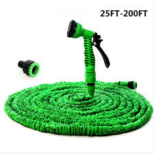 expandable garden hoses. Hot Magic Flexible Hose Expandable Garden Reels Water Car Pipe Watering Connector Blue Hoses I