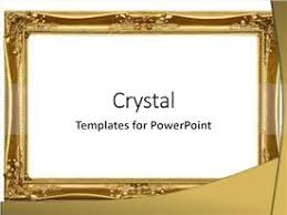 5000 Gold Frame Empty Powerpoint Templates W Gold Frame