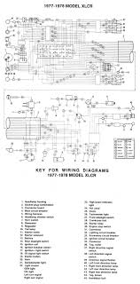 harley diagrams and manuals 1990 flhtc wiring diagram wiring diagram xlcr (1977 1978)