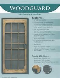 metal security screen doors. Paradise Security Door Woodguard Metal Screen Doors O