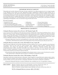 Physician Assistant Resume Template Stunning Physician Resume Examples Andaleco