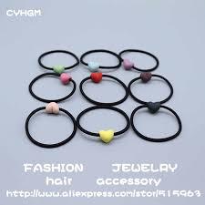 <b>CYHGM girls</b> kawaii elastic <b>hair</b> bands scrunchie satynowa gumka ...