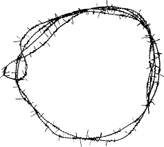 wire fence transparent. Free Download (circle-barbed-wire-frame-1.png) Wire Fence Transparent