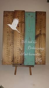 inspirational reclaimed wood wall art