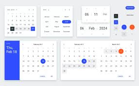 Material Design Lite Datepicker Date Time Pickers