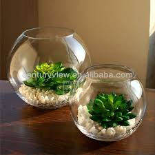 Decorative Fish Bowls Showpiece For Home Decoration Glass Fish Bowl Wholesale View 8