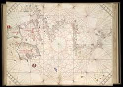 Portolan Charts Portolan Chart Of The British Isles F 5