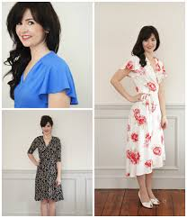 Wrap Dress Sewing Pattern Interesting Sew Over It Eve Dress Eve Wrap Dress
