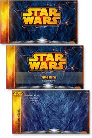 star wars template star wars template portfolio the powerpoint blog