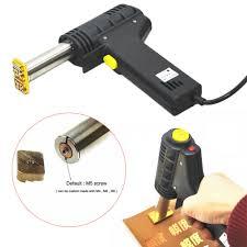 details about handheld stamper hot foil stamping embossing machine leather printer diy logo