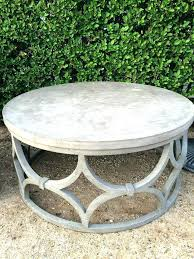 round stone top coffee table outdoor stone coffee table s outdoor stone top coffee table vida round stone top coffee table