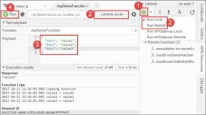 Working with AWS Lambda Functions in the AWS Cloud9 Integrated ...