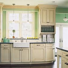 in style kitchen cabinets: victorian design kitchen cabinets style wooden stained varnished modern cool interior simple shelves drawers