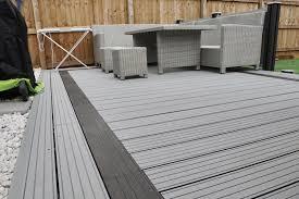 gray composite decking. Interesting Composite Composite Decking  Grey Composite Fencing In Gray L